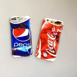 iphone6 6s 3D仿可樂瓶壓扁手機殼 iphone6plus 6splus 百事可