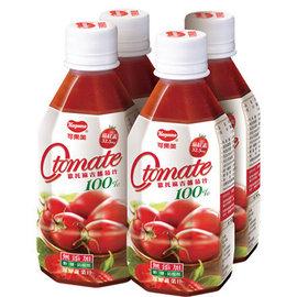 可果美 O tomate 100^%蕃茄汁^(280ml^~48瓶 2箱^)