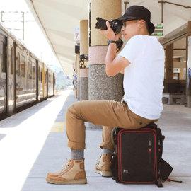 PackChair多功能椅子相机包(一机四镜、二机三镜) 电脑包 自助旅行包 登山包 妈妈包 救难包 后背包 排队逛街