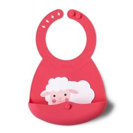 【贈三角固齒安撫巾】美國【Ergobaby】原創基本款嬰兒揹巾-粉灰齒紋