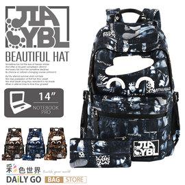 後背包  JIAYBL 美帽四胞胎 多 休閒包 輕量 多色 JIA~8286