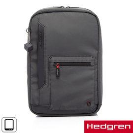 ~Hedgren~HZPR齊柏林系列~單肩後背包^(鐵灰色^)