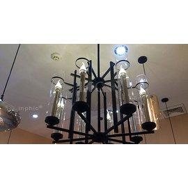 『INPHIC』美式蠟燭燈泡 復古拉尾燭臺吊燈餐廳復古燈新中式吊燈-KC-MD1387-8_S021D