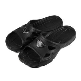 ^(男^) ARRIBA 輕量拖鞋 黑 鞋全家福