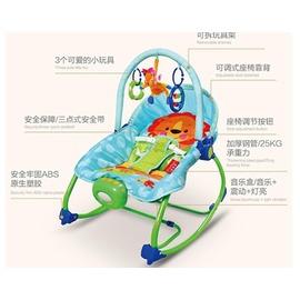 寶電動按撫多 可平躺搖籃音樂搖床躺椅兒童坐椅嬰兒搖椅~潮衣部落格~TW