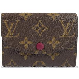 Louis Vuitton LV M41939 Rosalie 花紋信用卡零錢包 價 11