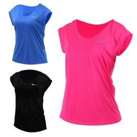 NIKE 女短袖針織衫(T恤 短T 路跑 慢跑【03312361】≡排汗專家≡