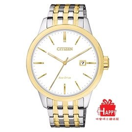 CITIZEN 星辰 ~PAIR對錶系列~ 光動能雙色 腕錶 BM7308~58A