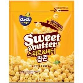 韓國DARDA爆米花~奶油250g