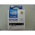 ~EPSON 188 T188B T188150 黑色墨水匣WF~3621 WF~7611