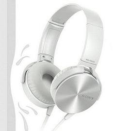 耳機Sony 索尼MDR~XB450AP耳機頭戴式立體聲手機線控通話帶麥耳機~潮衣部落格~
