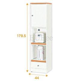 ~優彼塑鋼~寬44高細長雙拉盤一抽 櫃 櫥櫃 收納櫃 狹窄空間 抗菌好清潔 TK230