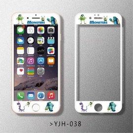 iphone6 6s 多款卡通浮雕鋼化膜 前膜 滿版鋼化膜 卡通 iphone6plus
