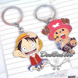 航海王海賊王魯夫喬巴鑰匙圈吊飾魯082501巴082502通販部