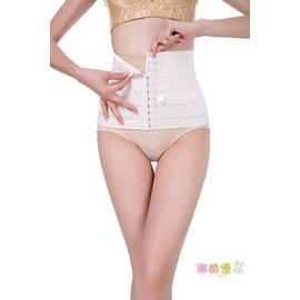 收腹帶產后 束腰超薄內衣腰封瘦腰收復帶透氣束腰塑身女~潮衣部落格~