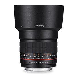 ~相機 ~ SAMYANG 85mm F1.4 AE for Canon EF 手動鏡 正