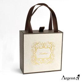 ~ SilverFly銀火蟲銀飾 ~加購品~飾品包裝盒~~三井提盒 咖啡色 ~  項墜 戒