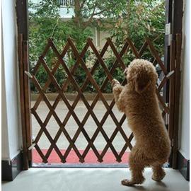 簡易 寵物圍欄護欄隔離門拼接型狗柵欄安全推拉門 街