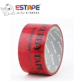 王佳膠帶 ESTAPE 保密封箱膠帶 SKP~770002 紅色  捲