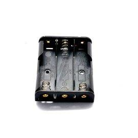 新竹市 4.5V 3顆1.5V 3號電池 3節/三節 電池盒/電池扣 (不帶線)