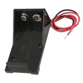 新竹市 9V 6F22電池 電池盒/電池扣/電池座 (帶線)