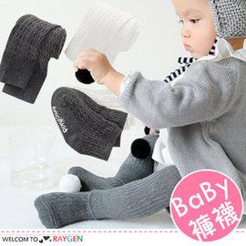男女寶寶螺紋針織連身褲襪 九分打底褲 短襪 套裝【HH婦幼館】