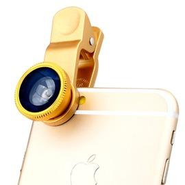 手機鏡頭廣角微距魚眼三合一 四合一偏光 直播外置攝像頭~潮衣部落格~