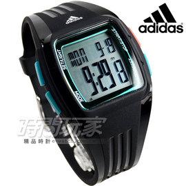 adidas 愛迪達 Performance 果凍色元素電子錶 橡膠錶帶 黑x綠 ADP3