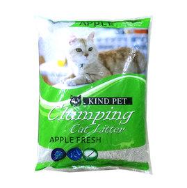 Kind Pet 破碎粗砂貓砂10L~檸檬 薰衣草 玫瑰 蘋果~百分百寵物 館~