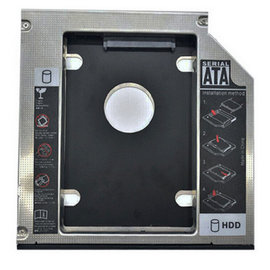 新竹市 筆電NB 2.5吋 SATA3接口 小轉大 SSD固態硬碟 轉換托架/托盤/硬碟支架/轉接架 (帶燈合金12.7mm)