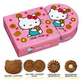 布如蒙凱蒂貓可可圓罐餅乾338.4g