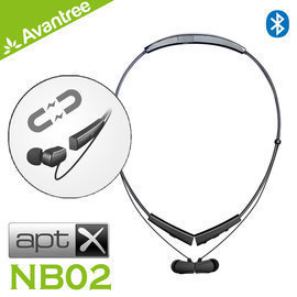 平廣 送袋 Avantree NB02 藍芽耳機 磁吸後掛式 耳機 一年 另售Jabra