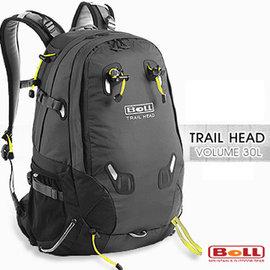 【捷克 BOLL】新款 Trail Head 30L 專業輕量健行背包(登山杖扣/人體工學肩帶).自助旅行.出國打工旅遊 非Deuter_黑/煤黑 1040007