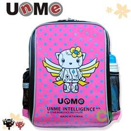 ~UnMe機器人~超輕點點後背書包/粉紅色