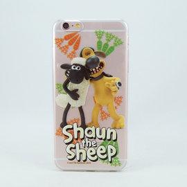 笑笑羊 ^(Shaun The Sheep^)~TPU手機殼:~有福同享~~iPhone