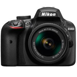 新~32G 背帶組Nikon D3400 AF~P 18~55mm VR KIT 中文平輸