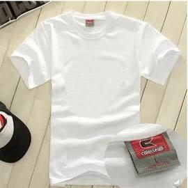 ~隨e印~200克空白T恤全棉短袖男女T恤一件150元 熱轉印紙 用