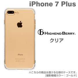 Hamee  Highend Berry 高 軟式透明TPU iPhone7 Plus 手
