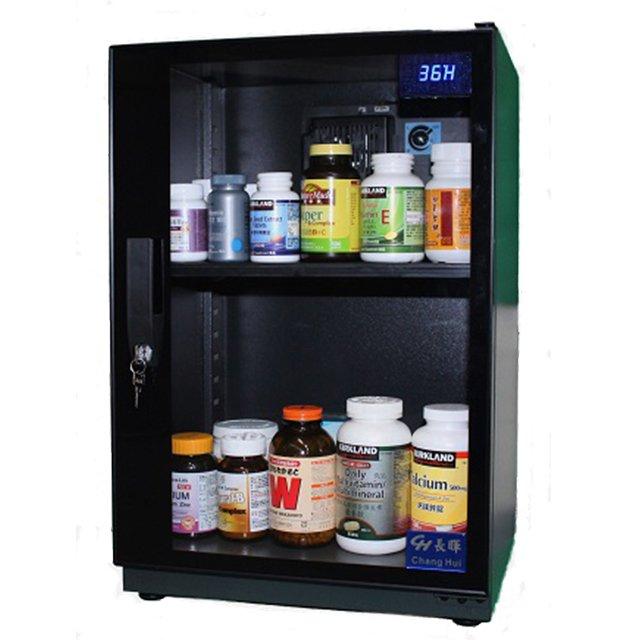 長暉CH~168S~080可調式防潮箱 晶片除濕 電子防潮箱 可放營養保健品 防潮櫃