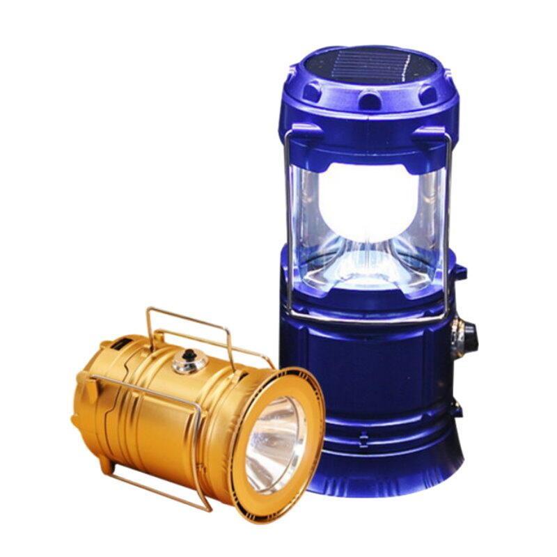 【GG436】超亮LED太陽能燈 手電筒 露營燈 緊急照明應急燈 USB 太陽能探照燈