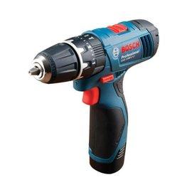 BOSCH 充電式震動電鑽GSB 1080-2-LI(雙電)★附加衝擊功能★單套筒夾頭設計★電池保護裝置