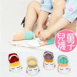 韓國全棉卡通兒童 船襪 嬰幼兒寶寶防滑 地板襪子 隱形襪 S-M【HH婦幼館】
