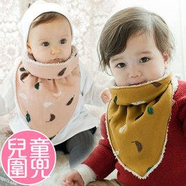 新款韓版兒童圍巾 男女童加絨保暖口水巾 寶寶圍脖圍兜 【HH婦幼館】