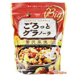 【吉嘉食品】日清-早餐燕麥片(水果果實) 1包200公克135元,日本進口,另有500g包裝{4901620160012:1}