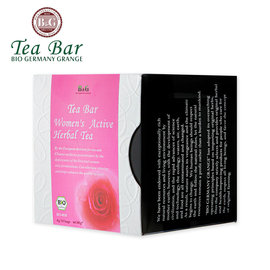 ~德國農莊 B  G Tea Bar~有機神奇女人花茶 ^(4g^~10包^)