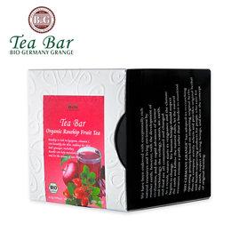 ~德國農莊 B  G Tea Bar~有機晶瑩玫瑰果水果茶 ^(4.5g^~10包^)