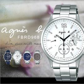 法國簡約雅痞 agnes b. 太陽能 腕錶 40mm 文青風 機芯 防水 蜥蜴 FBRD