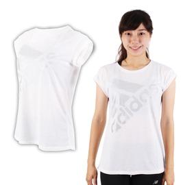 ADIDAS 女運動短袖T恤(短T 慢跑 路跑 愛迪達【03312456】≡排汗專家≡