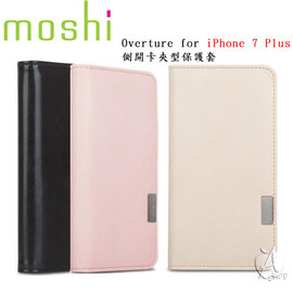【A Shop】 Moshi Overture iPhone 8 / 7 側開卡夾型保護套-3色