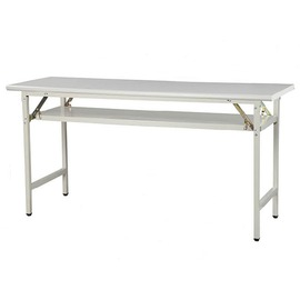 灰色檯面折疊會議桌 摺疊桌 折合桌 折疊桌 120^~45^~74^( 木紋色及 尺寸^)